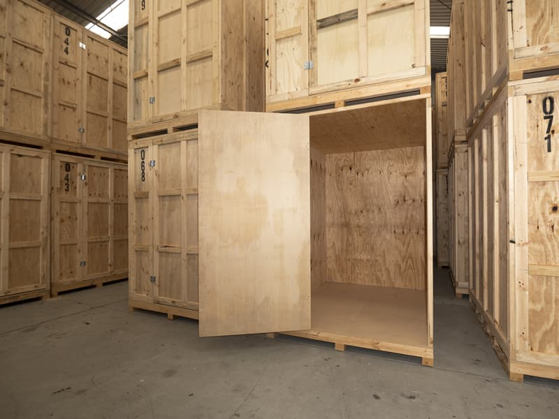 Treated Timber Module Storage System